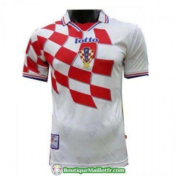 Maillot Croatie Retro 1998 Domicile