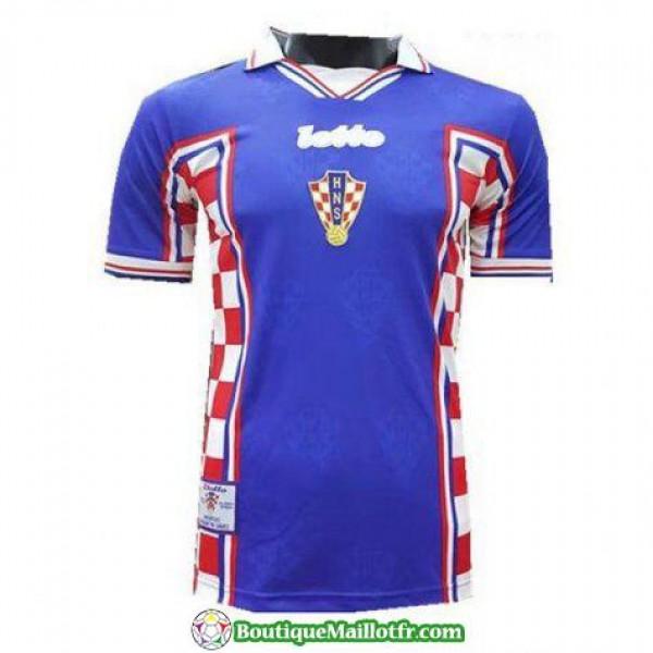 Maillot Croatie Retro 1998 Exterieur