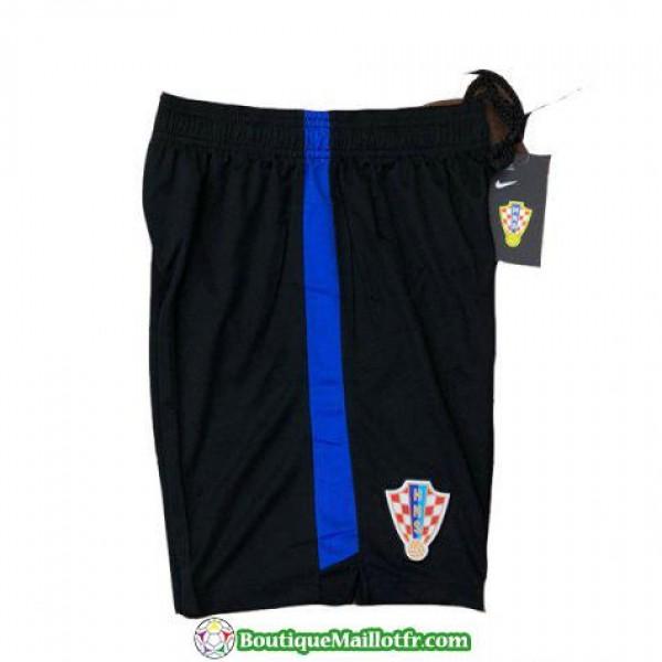 Pantalon Croatie Entrainement 2018 Bleu