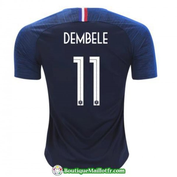 Maillot France Dembele 2018 Domicile