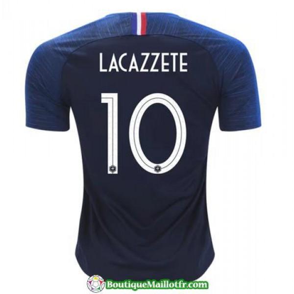 Maillot France Lacazzete 2018 Domicile