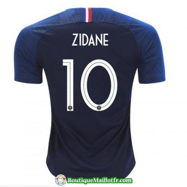 Maillot France Zidane 2018 Domicile