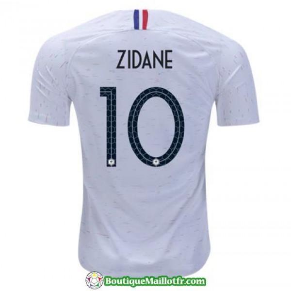 Maillot France Zidane 2018 Exterieur