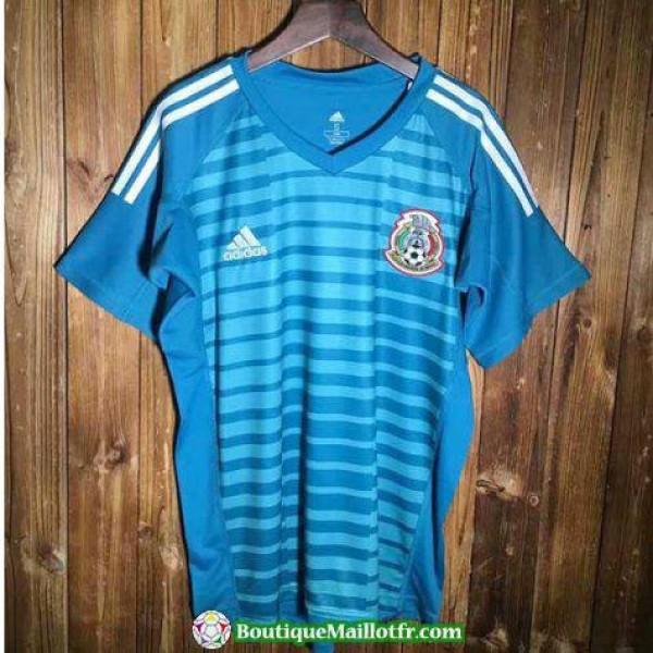 Maillot Mexique Gardien 2018 Bleu