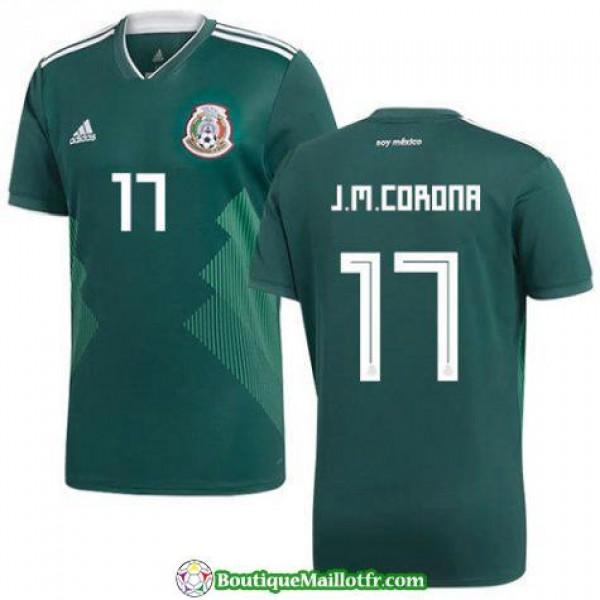 Maillot Mexique J M Corona 2017 2018 Domicile