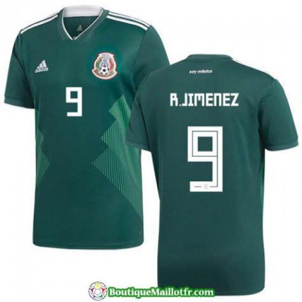 Maillot Mexique R Jimenez 2017 2018 Domicile