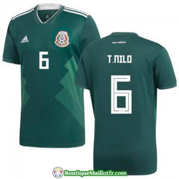 Maillot Mexique T Nilo 2017 2018 Domicile