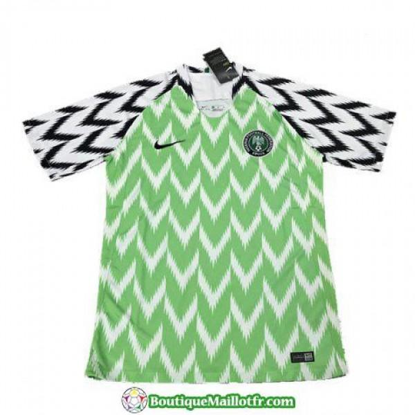 Maillot Nigeria 2018 Domicile