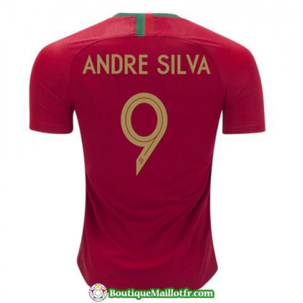 Maillot Portugal Andre Silva 2018 Domicile