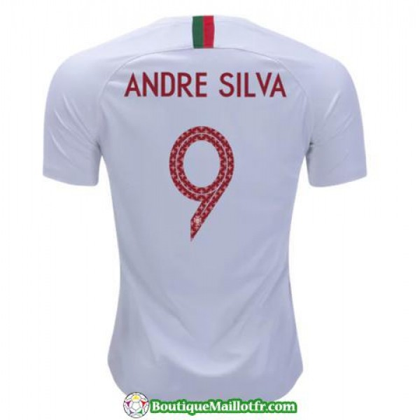 Maillot Portugal Andre Silva 2018 Exterieur