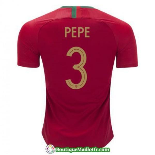 Maillot Portugal Pepe 2018 Domicile