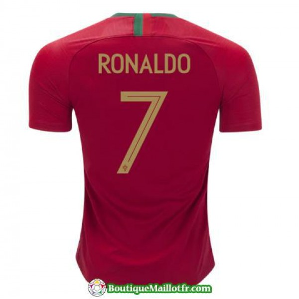 Maillot Portugal Ronaldo 2018 Domicile