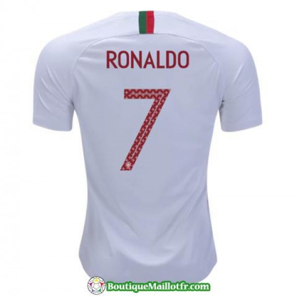 Maillot Portugal Ronaldo 2018 Exterieur