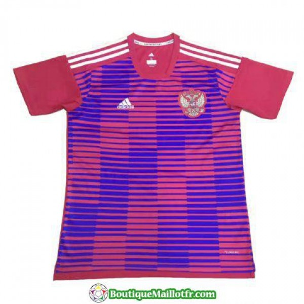 Maillot Russie Formation 2018 Rojo