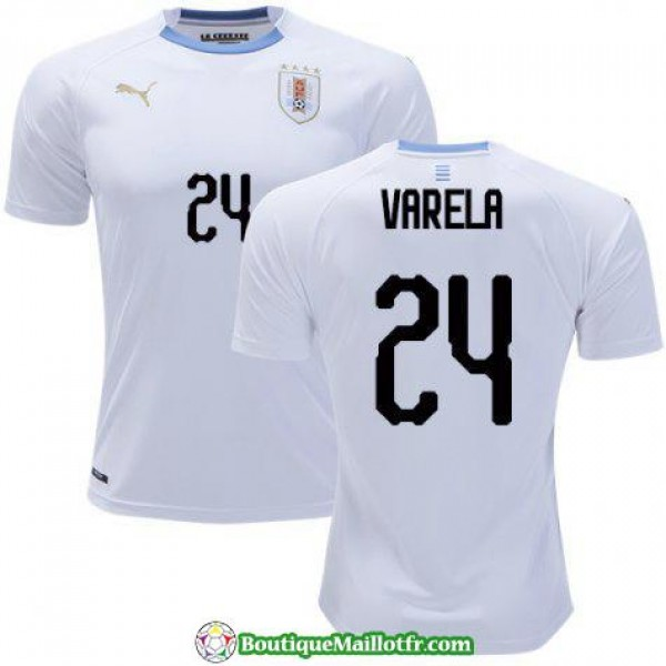 Maillot Uruguay Varela 2018 Exterieur