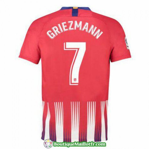 Maillot Atletico De Madrid Griezmann 2018 2019 Domicile