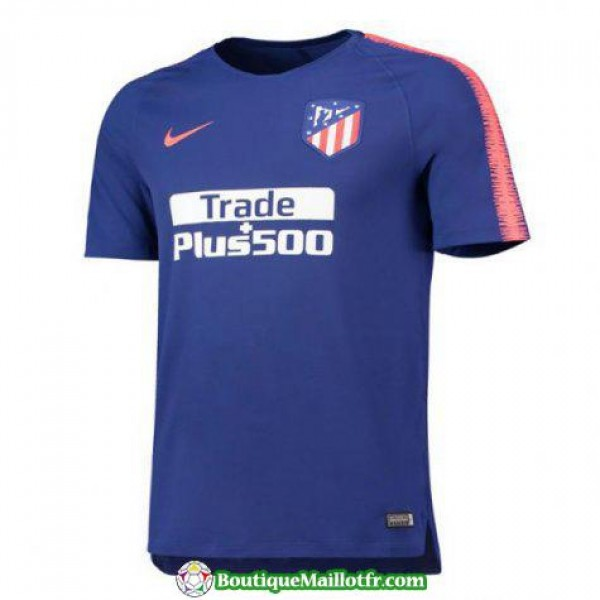 Maillot Atletico Madrid Entrainement 2018 2019 Ble...