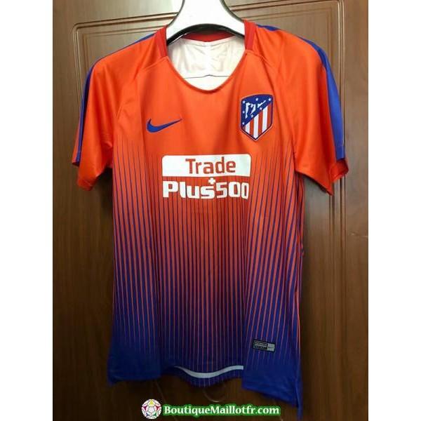 Maillot Atletico Madrid Entrainement 2018 2019 Orange