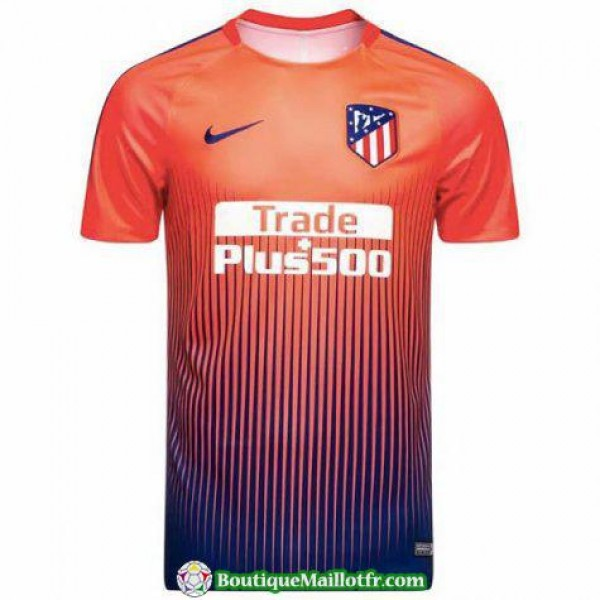Maillot Atletico Madrid Entrainement 2018 2019 Orange