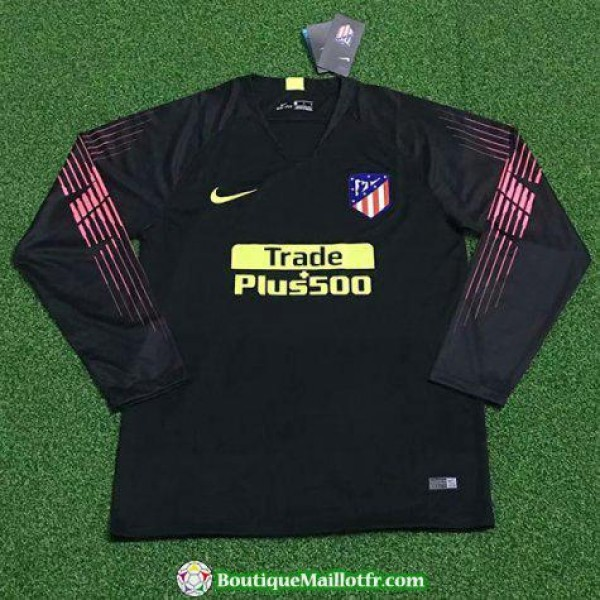 Maillot Atletico Madrid Gardien Manche Longue 2018...