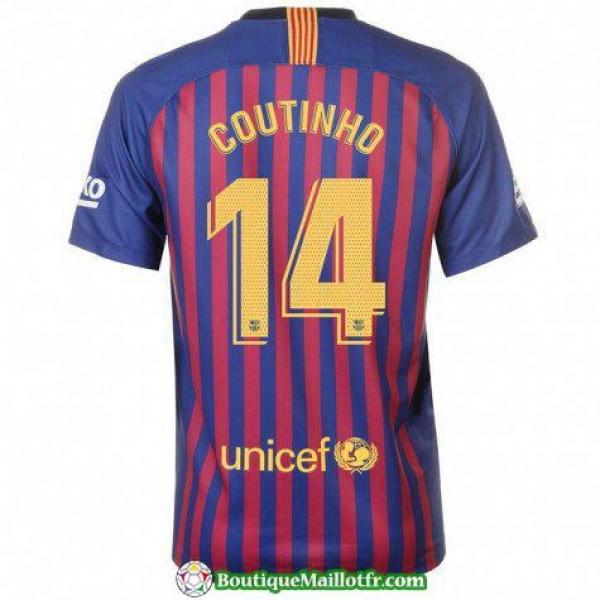 Maillot Barcelone Coutinho 2018 2019 Domicile