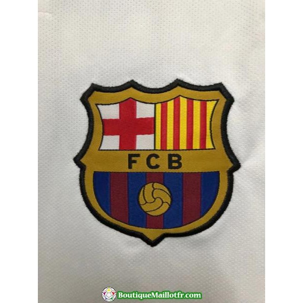 Maillot Barcelone Entrainement 2018 2019 Blanc