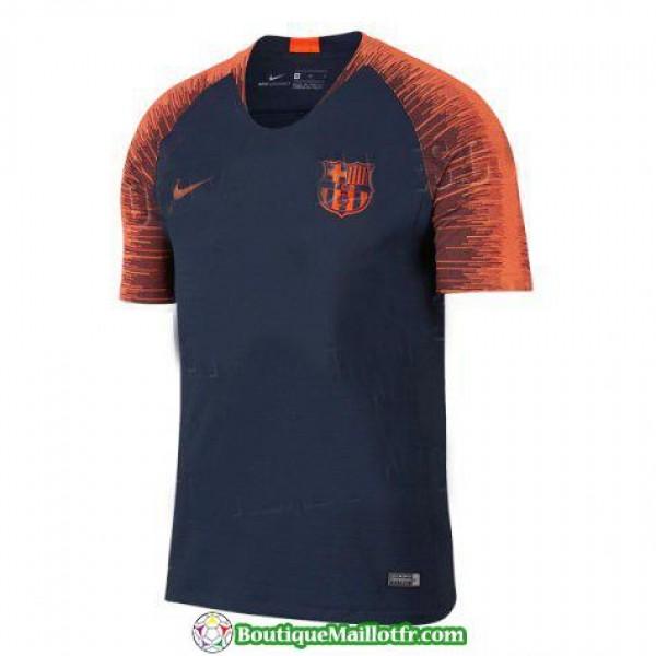 Maillot Barcelone Entrainement 2018 2019 Noir Orange
