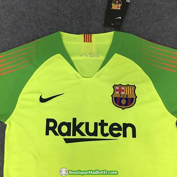 Maillot Barcelone Gardien 2018 2019 Vert