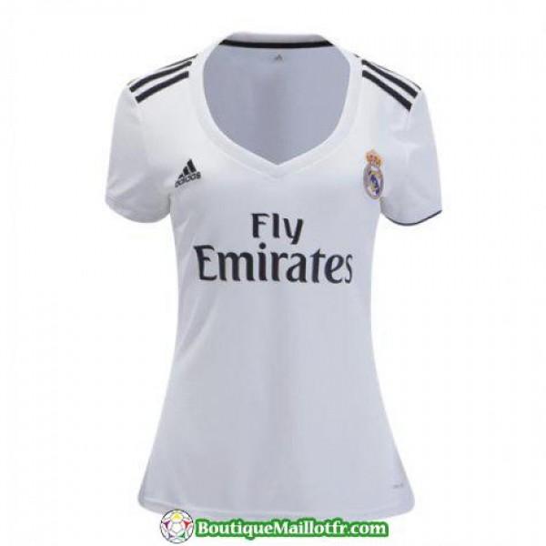 Maillot Real Madrid Femme 2018 2019 Domicile