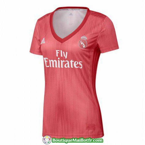 Maillot Real Madrid Femme 2018 2019 Neutre