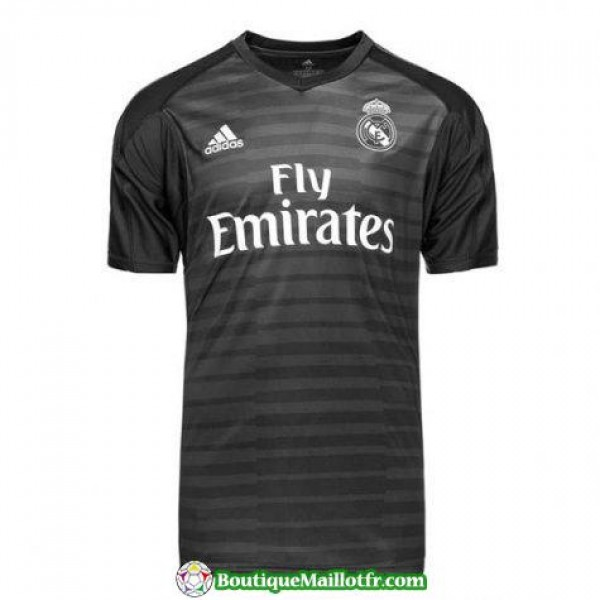 Maillot Real Madrid Gardien 2018 2019 Noir