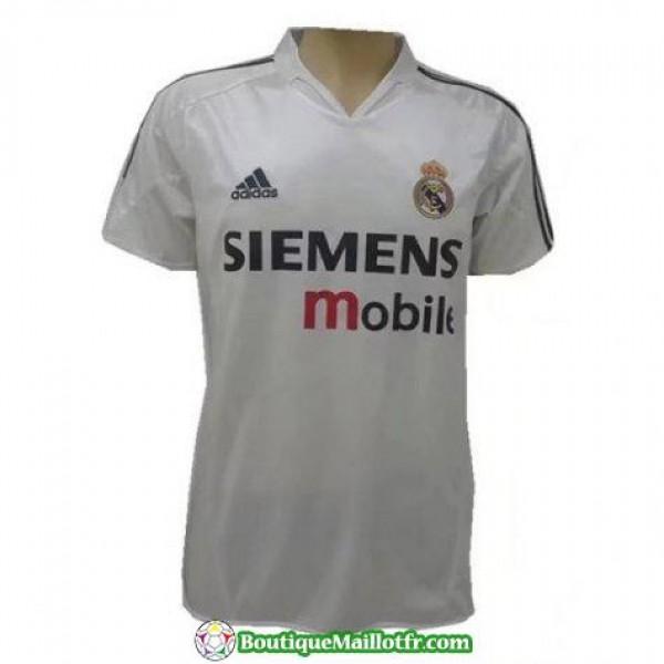 Maillot Real Madrid Retro 2004 Domicile