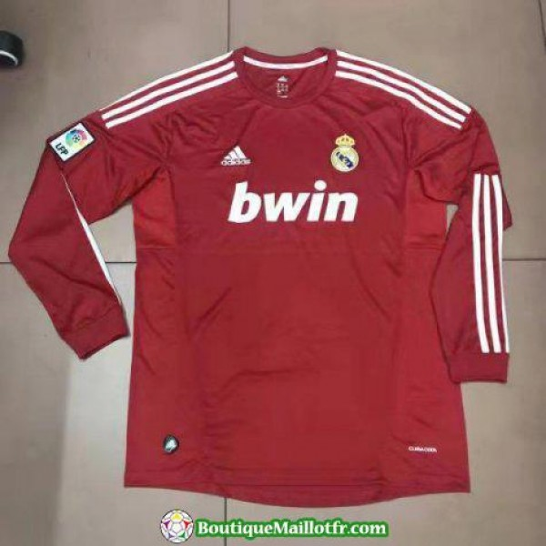 Maillot Real Madrid Retro Manche Longue 2011-2012 ...
