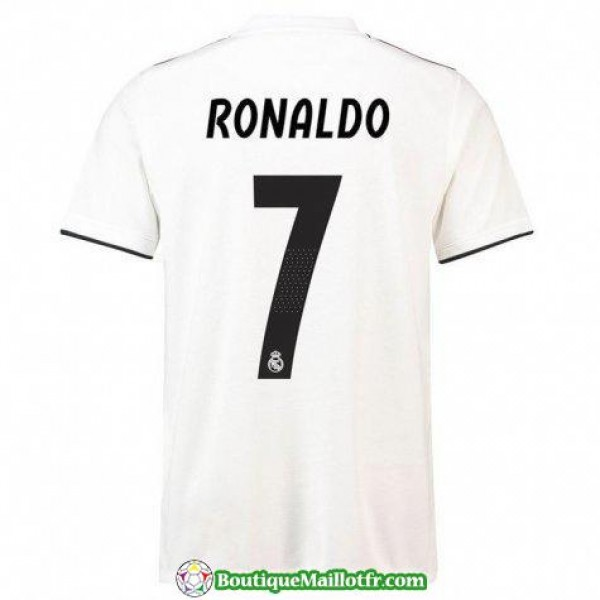Maillot Real Madrid Ronaldo 2018 2019 Domicile