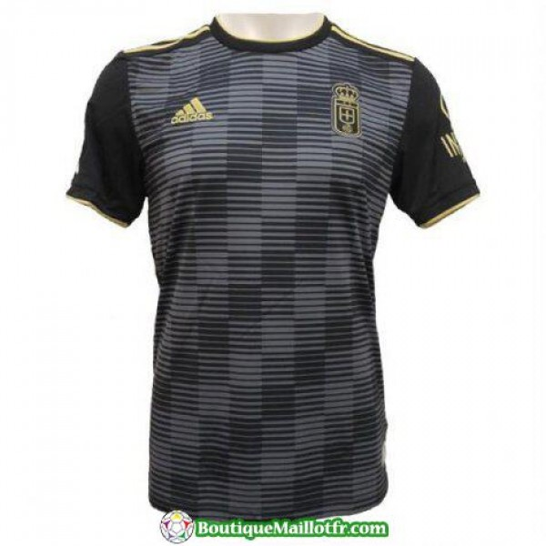 Maillot Real Oviedo 2018 2019 Exterieur