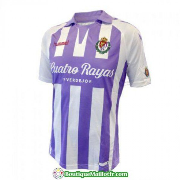 Maillot Real Valladolid 2018 2019 Domicile