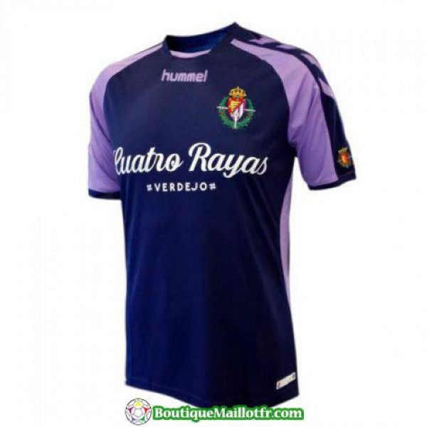 Maillot Real Valladolid 2018 2019 Exterieur