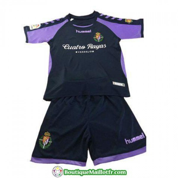 Maillot Real Valladolid Enfant 2018 2019 Exterieur