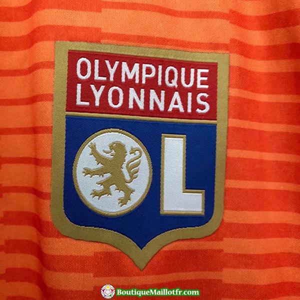 Maillot Lyon 2018 2019 Neutre
