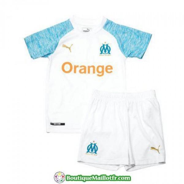 Maillot Marseille Enfant 2018 2019 Domicile