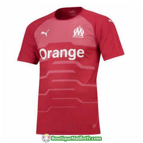 Maillot Marseille Gardien 2018 2019 Rouge