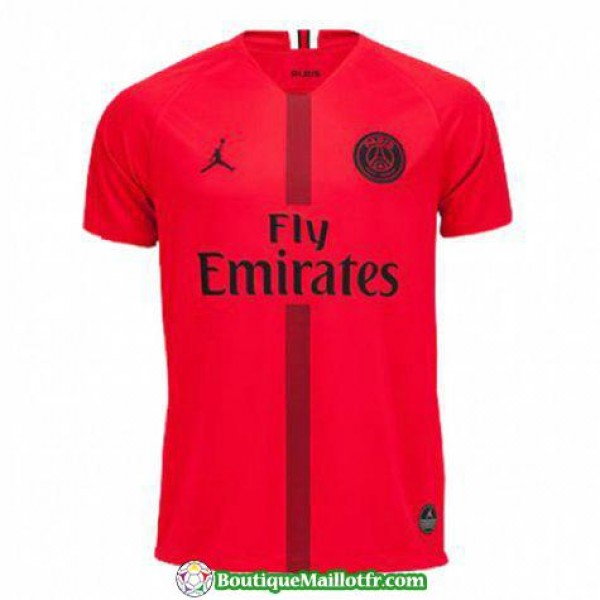Maillot Psg 2018 2019 Champions League Rouge