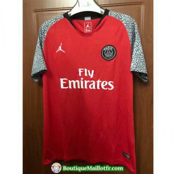 Maillot Psg Edition Limitee Rouge 2018 2019