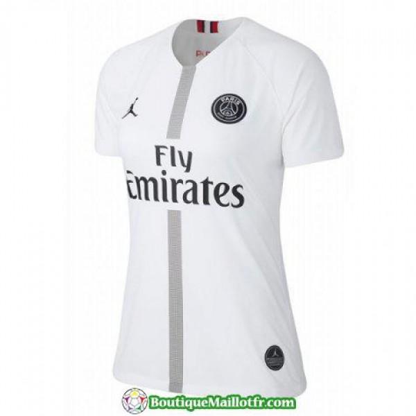 Maillot Psg Femme 2018 2019 Champions League Blanc
