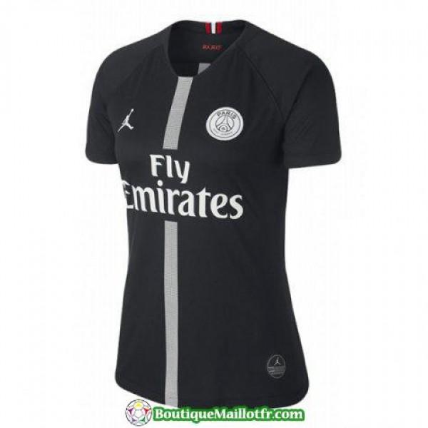 Maillot Psg Femme 2018 2019 Champions League Noir