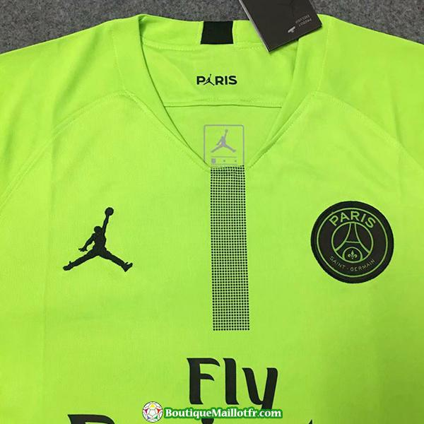 Maillot Psg Gardien 2018 2019 Champions League Vert