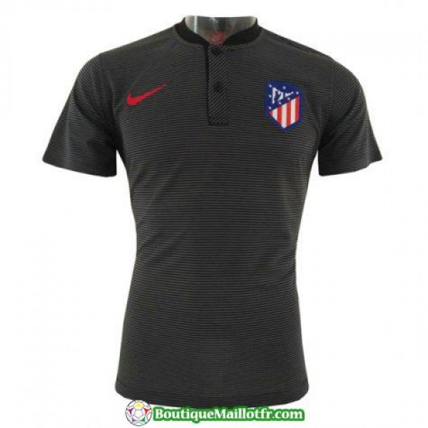 Polo Atletico Madrid 2018 2019 Noir