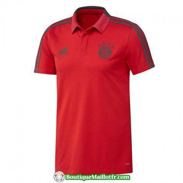 Polo Bayern Munich 2018 2019 Rouge