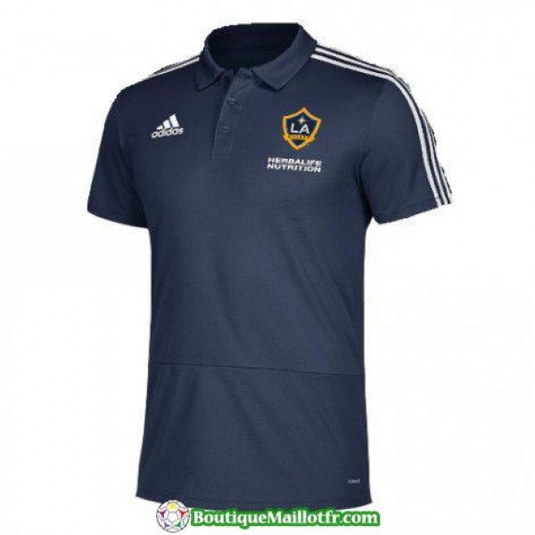 Polo La Galaxy 2018 2019 Bleu