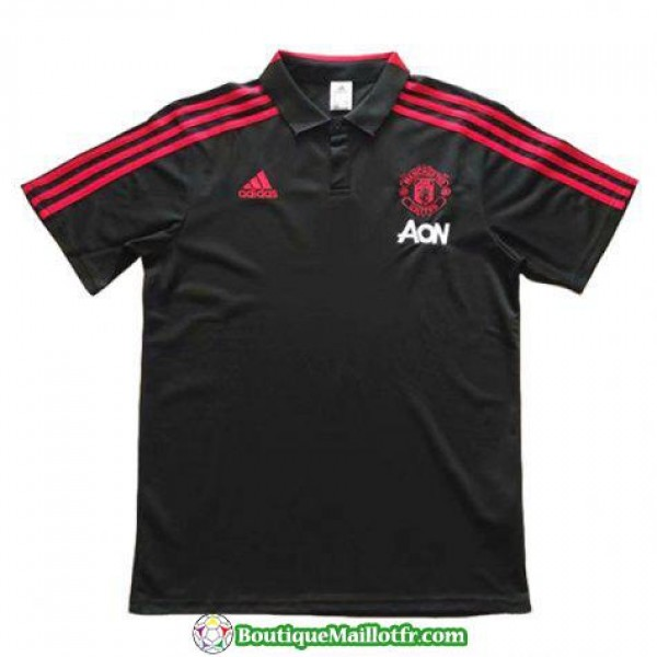 Polo Manchester United 2018 2019 Noir